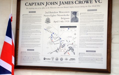 Memories of Capt. John James Crowe VC