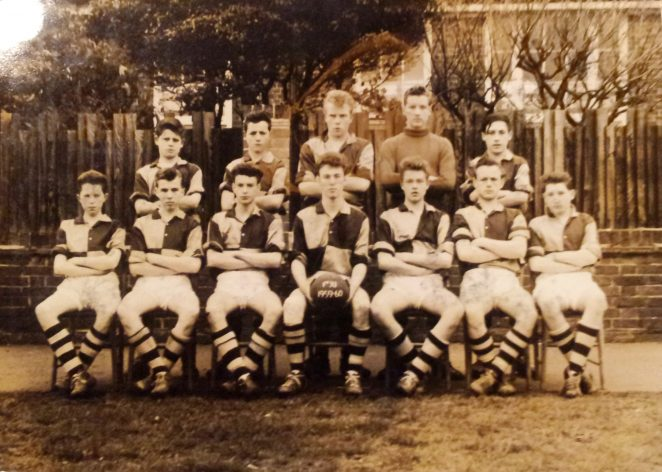 Football team 1959/60 | From the private collection of Mike Hookham