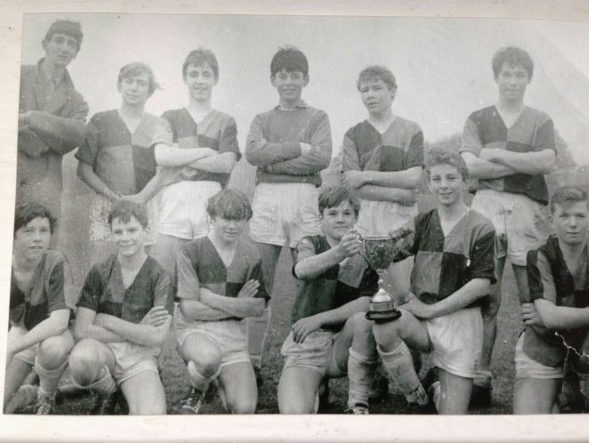 Pacham Fawcett 1966 1stXI football | From the private collection of Gary Croydon