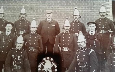 Which fire brigade?