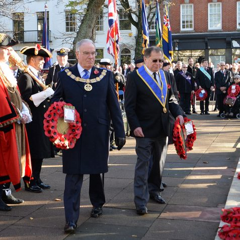 Remembrance Sunday: ©Tony Mould