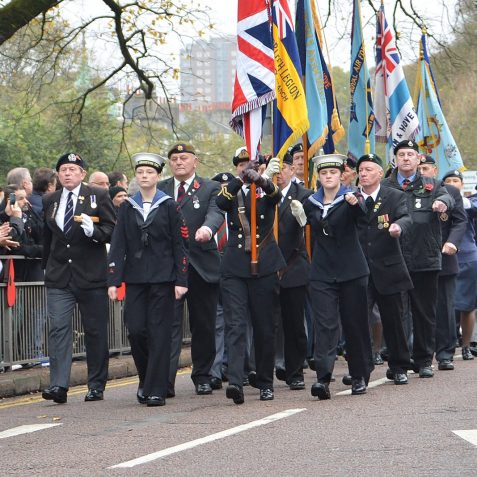 Remembrance ceremony 2015 | ©Tony Mould:copyright protected