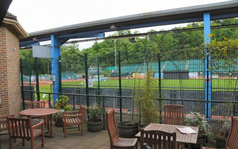 Developed as a tennis centre in 1936