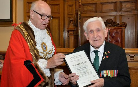 Bernard Jordan: Honorary Alderman of Brighton and Hove