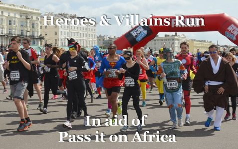 Heroes & Villains charity run