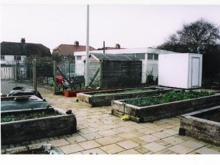 Allotments for All plot at Weald Avenue | Photo by Peter Richards