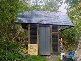 The compost toilet | Photo by Simon Tobitt