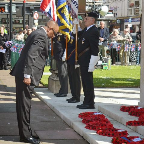 VE Day service of commemoration | ©Tony Mould: images copyright protected