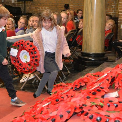 Childrens' Remembrance:©Tony Mould