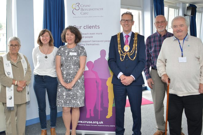 The Mayor of Brighton and Hove, Councillor Pete West at the launch | ©Tony Mould: all images copyrighted