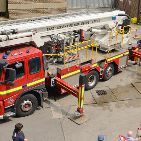 Preston Circus Fire Station Open Day | ©Photo by Tony Mould