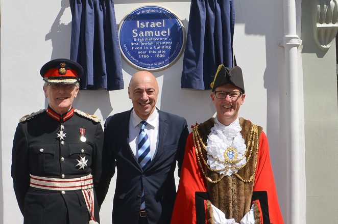 Israel Cohen Blue Plaque: ©Tony Mould
