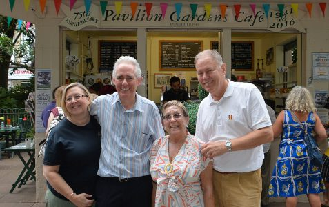 Pavilion Gardens Cafe 75th anniversary