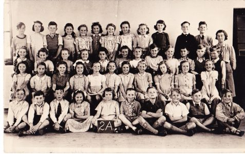 Class 2a c1949/50:Teacher Mrs Briggs