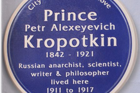 Prince Petr Alexeyvich Kropotkin