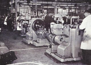 High Speed Dieing Press Assembly Line, Hollingbury c.1955 | From the private collection of Peter Groves