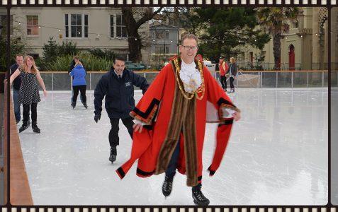 The Mayor On Ice