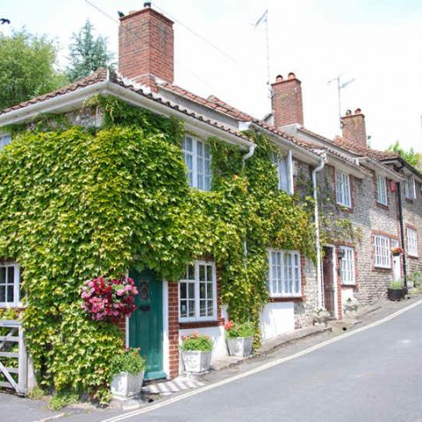 33-36 Church Hill, Patcham Village   Photo by Tony Mould