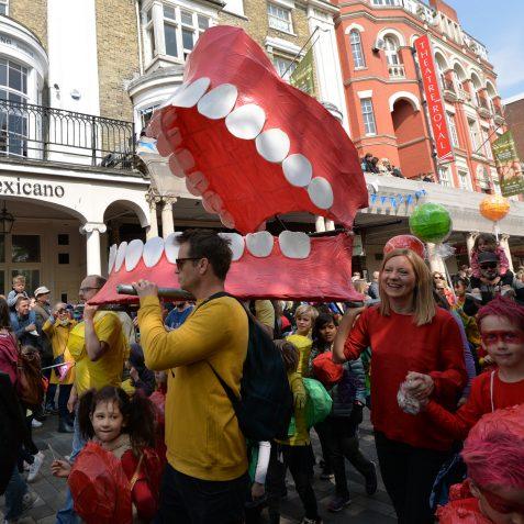 Brighton Festival Children's Parade: ©Tony Mould