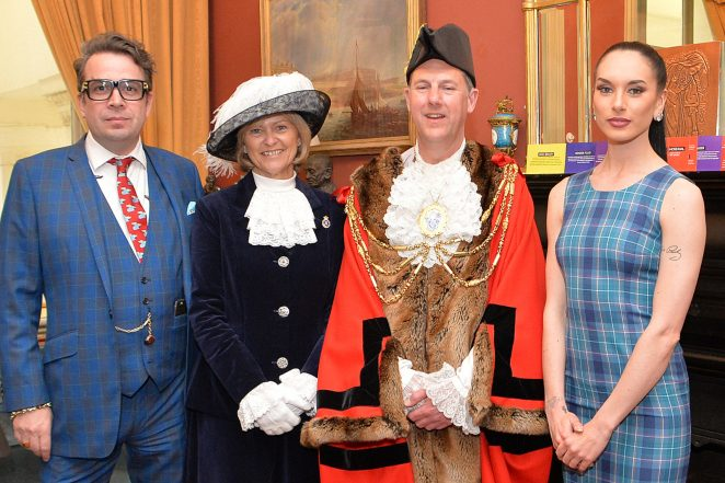 Some of the guests at the launch; Gresham Blake and the High Sheriff of East Sussex Maureen Chowen | ©Tony Mould: all images copyrighted