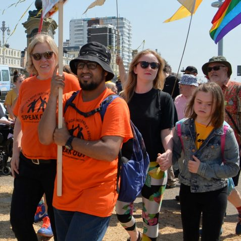Disability Pride Brighton: ©Tony Mould