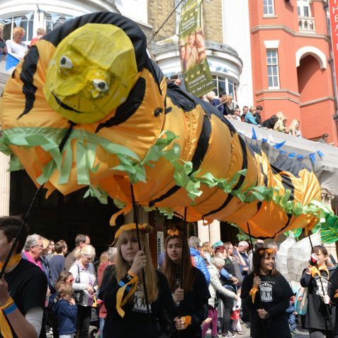 Brighton Festival Children's Parade: ©Tony Mould
