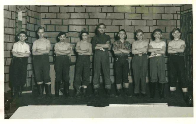 The school play of about 1956 | From the private collection of David Tarr