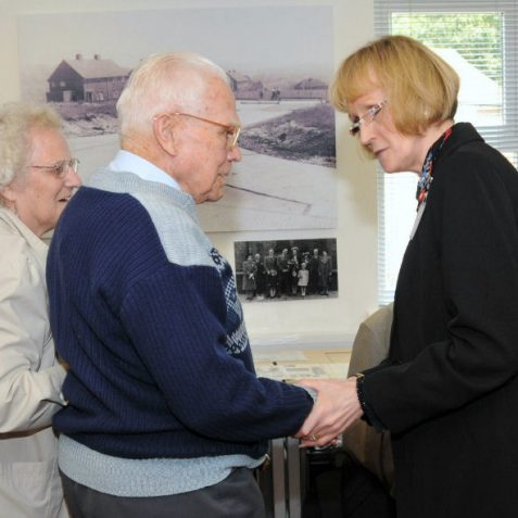 Jennifer from MyBH meets local residents | Photo by Tony Mould