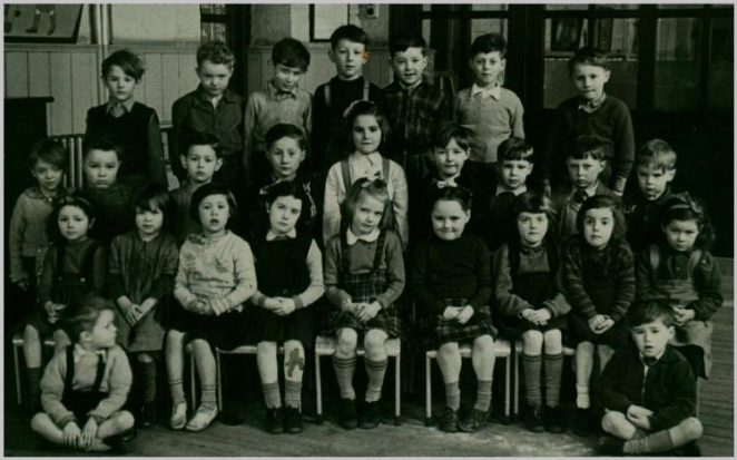 Infant class 1951/52 | From the private collection of Trevor Chepstow
