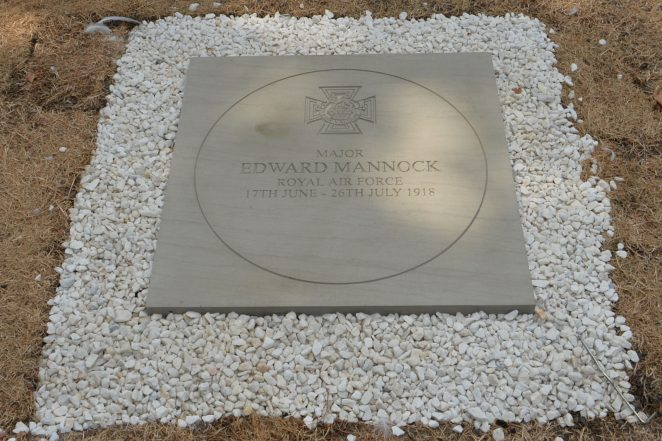 Major Edward Mannock commemorative ceremony | ©Photo by Tony Mould