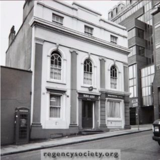 48 Trafalgar Street: undated | Image reproduced with kind permission of The Regency Society and The James Gray Collection