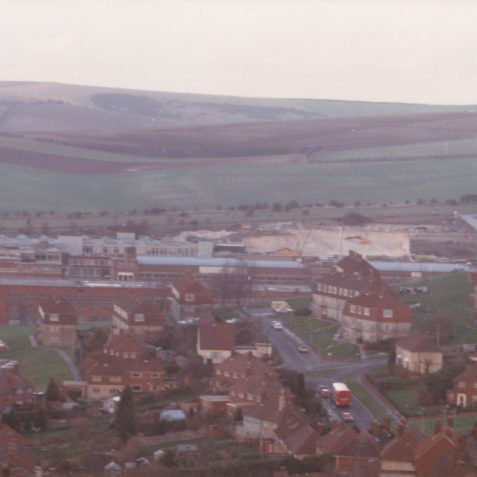 View from Ditchling Road Winter 1986/87 | From the private collection of Richard Griffiths