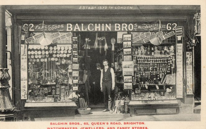 62 Queen's Road, Balchin Bros undated | From the private collection of Councillor Geoffrey Wells