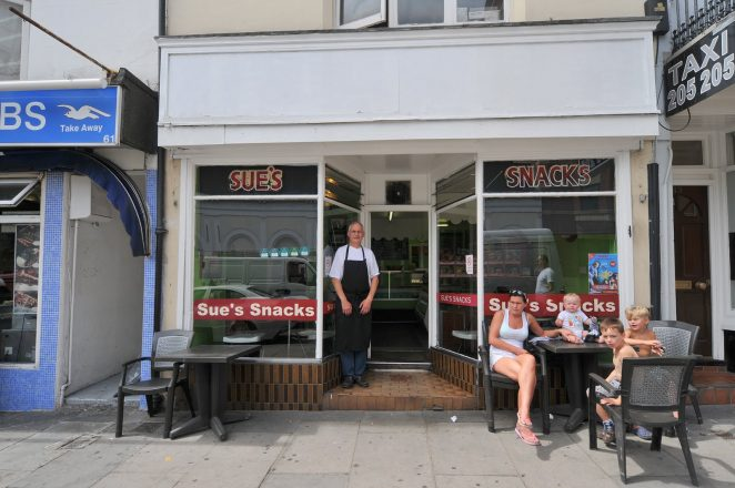 62 Queen's Road, Sue's Snacks 2010 | Photo by Tony Mould
