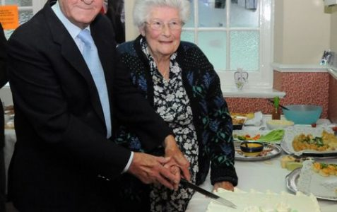 Brighton couple's 70th Wedding Anniversary