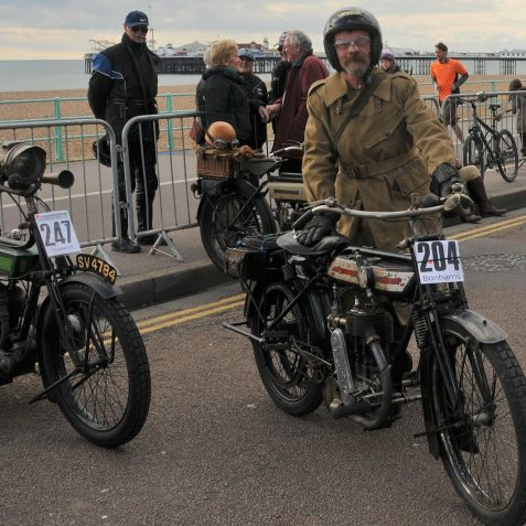 74th Sunbeam Pioneer Run | Photo by Tony Mould: click on image to open a large version in a new window