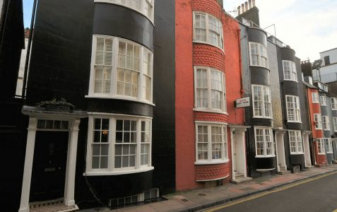 9-12 Charles Street: Grade II
