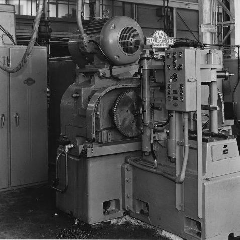 Special Purpose Travelling Head Machine Built for Vauxhall Motors with 50hp Spindle Motor c. Late 1950's | From the private collection of Peter Groves