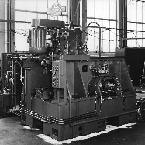 Special Purpose 3 Station Tunnel Type Milling Machine Built for Ford c. Late 1950's | From the private collection of Peter Groves