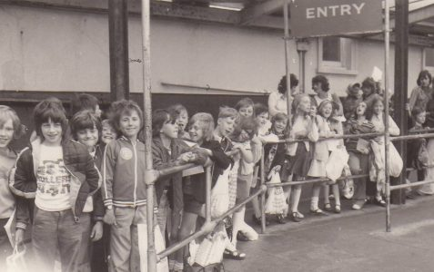 School outing in the late 1970s