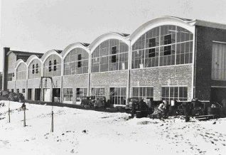 Rear of the new factory, later the headquarters of the Evening Argus (Fig 3) | Image from the private collection of Peter Groves