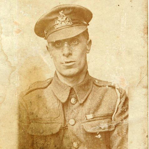 AWN Langrish - My grand father wearing his RND uniform   From the private collection of J. Hamblett