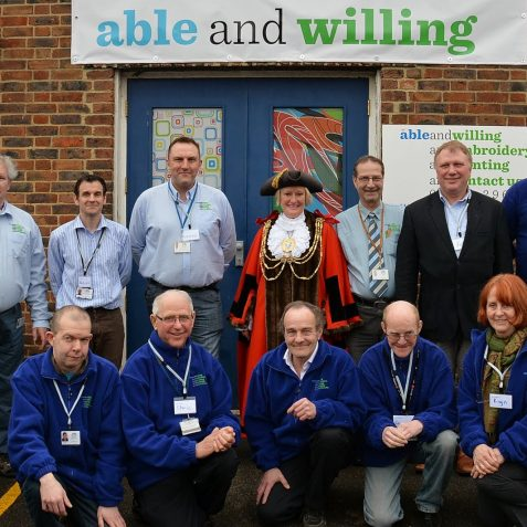 ableandwilling supported employer visit | Photo by Tony Mould