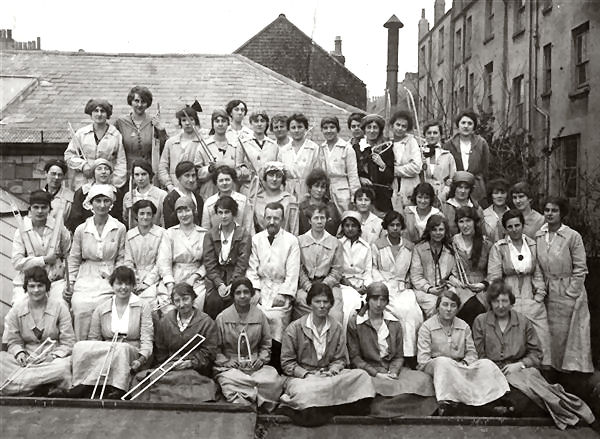 Brighton Aircraft Factory in WWI: location unknown | From the family collection of Dave Cresdee