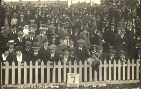 "Wiles Photographer from Hove - ""1920 Football Crowd"""