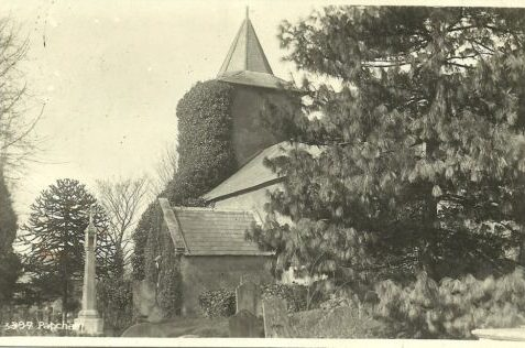 All Saints Church Patcham | From the private collection of David West