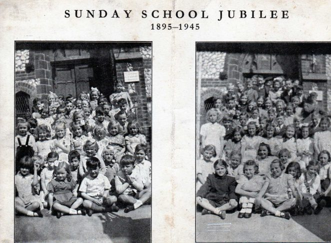 Sunday School Jubilee 1945   From the private collection of Jennifer Goddard