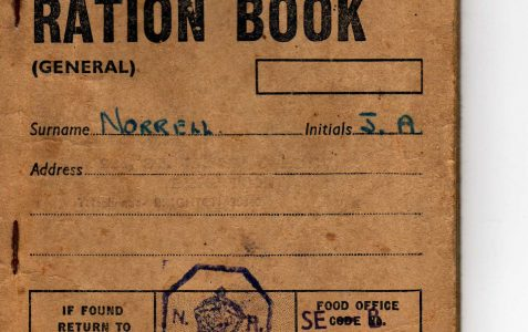 Ration Book for 1952-1953.