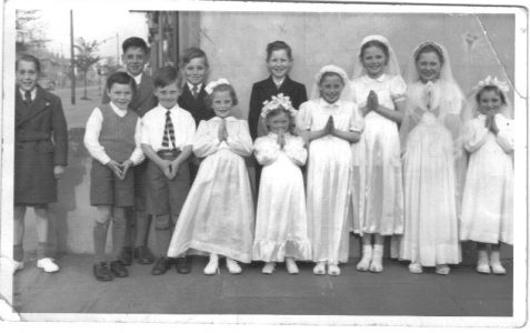Group photo taken c1954
