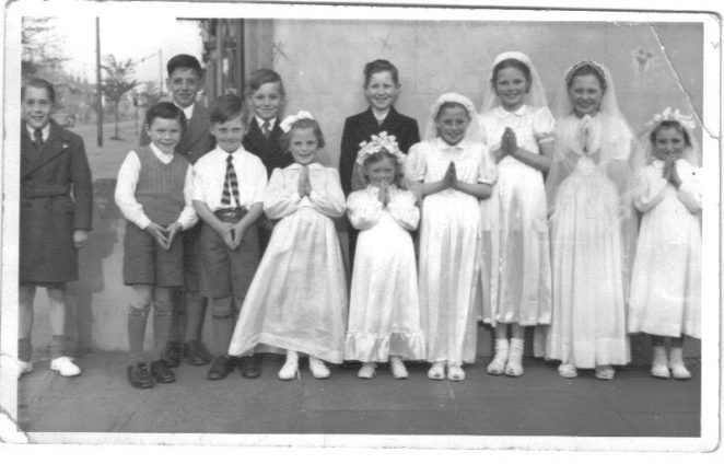Children from St. Joseph's School | From the private collection of Anthony Daly